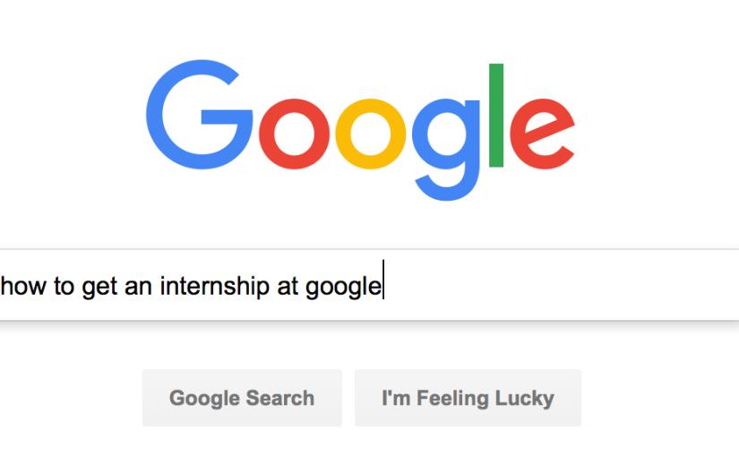 FAQs: Getting a (Google)Internship